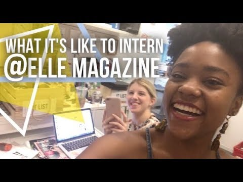 Typical Day At ELLE Magazine as an Intern + Summer Internship Reflection