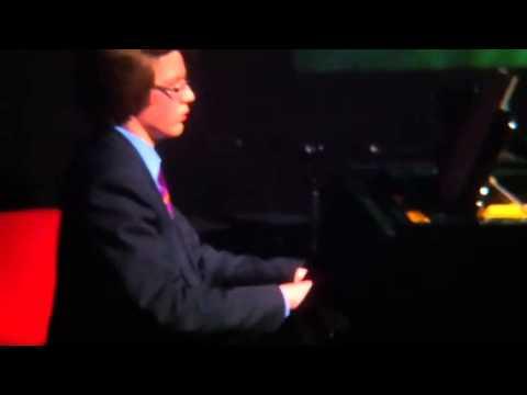 Piano solo - Brian Bonsor's 'Dreamy' at Dartford Grammar School - Spring concert 2013
