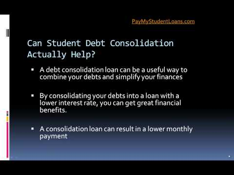 Can Student Debt Consolidation Actually Help