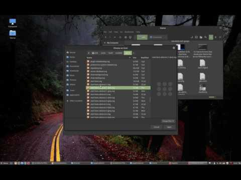 16 changing the start icon of linux  mint to one of sardi start icons