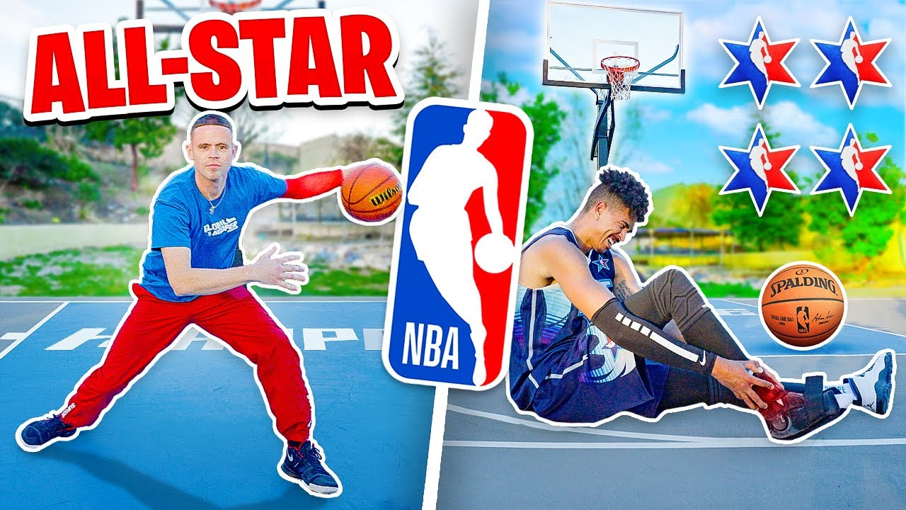 2HYPE NBA All Star Challenges ft. Professor *INJURY WARNING*