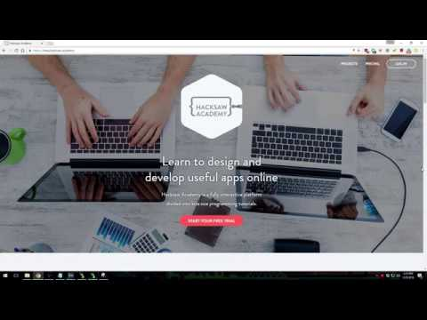 Learn to Code Online (HackSaw)