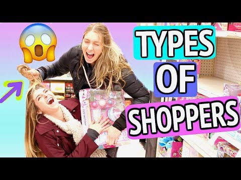 7 TYPES Of Shoppers!