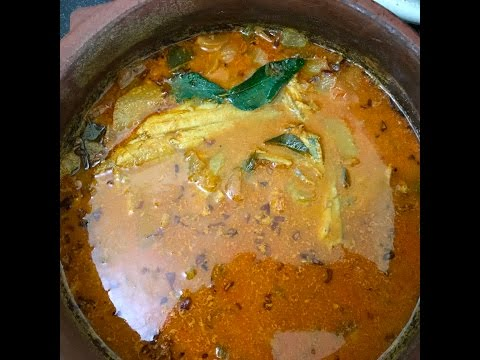 Manthal Manga Curry   Sole Fish Mango Recipe   Kerala Style   Easy and Delicious Fish curry Recipe