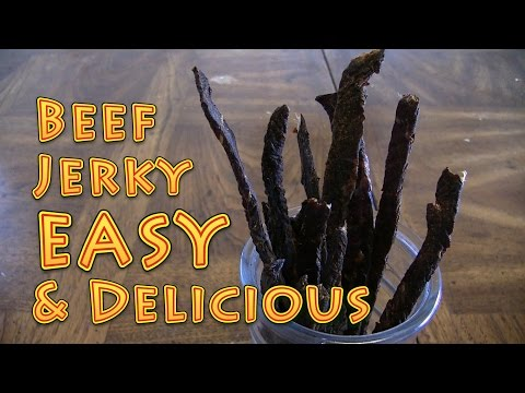 How to Make Beef Jerky EASY