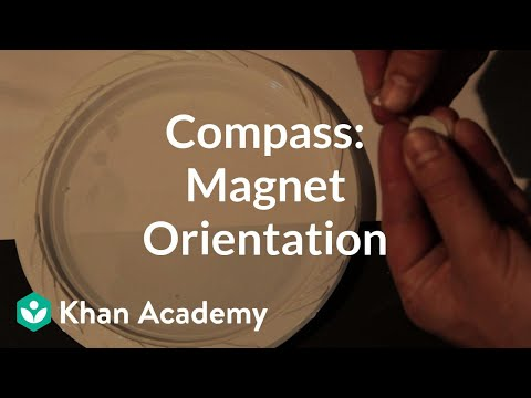 Compass build (magnet orientation) | Discoveries and projects | Physics | Khan Academy