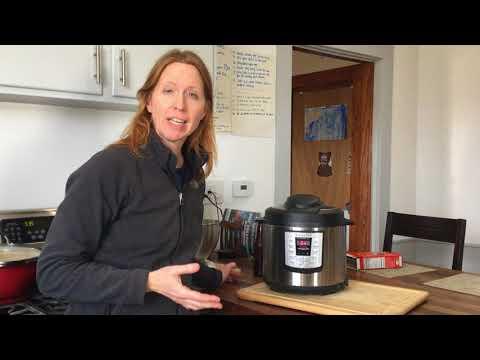 Instant Pot Lesson 8: Weird Noises: The Moment the Pot Seals