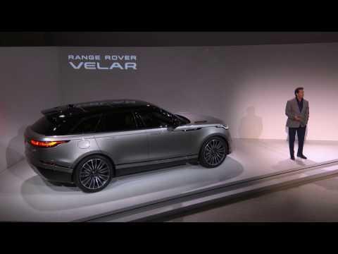 The New Range Rover Velar – Live Reveal From the Design Museum, London