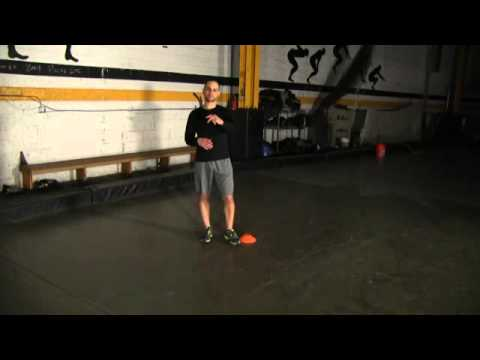 4 Cone Drill - IMPROVE HOCKEY AGILITY, SPEED, QUICKNESS