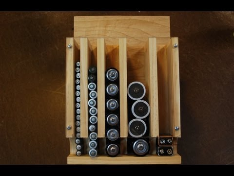 How to Make a Battery Organizer (woodlogger.com)