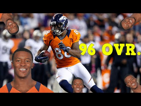 96 OVERALL DEMARYIUS THOMAS DEBUT! New Lineup! - Madden 16 Ultimate Team