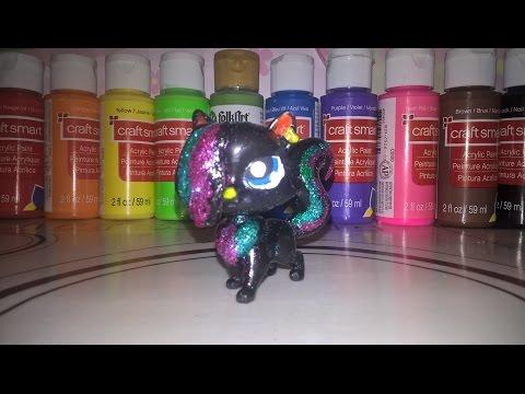 Custom Making: LPS OC Neon Star