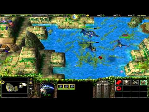 Let's Play Warcraft 3 The Frozen Throne Campaign Part 5 walkthrough playthrough guide