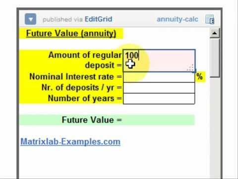 Calculate Future Value of Regular Deposits