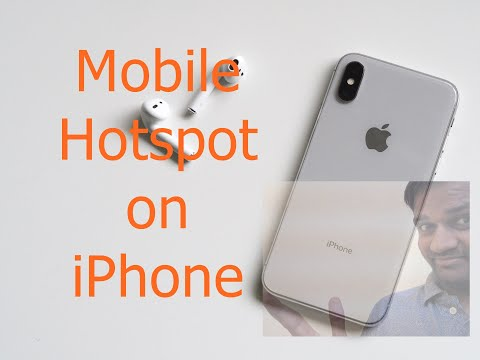 Mobile Hotspot on iPhone [Bluetooth, USB, WiFi Tethering] on iPhone 8, 8+, iPhone 7