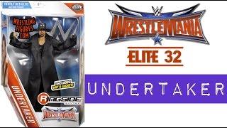 "WWE FIGURE INSIDER: Undertaker - WWE Elite ""WrestleMania 32"" Toy Wrestling Action Figure"