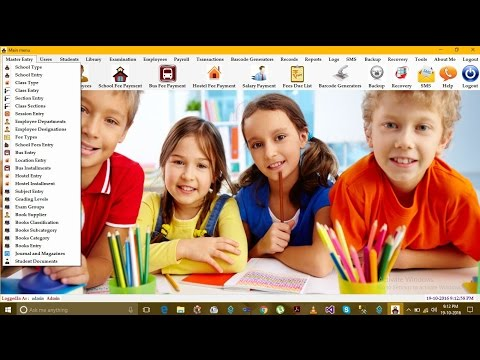 School Management Software | School Management System Project in C#