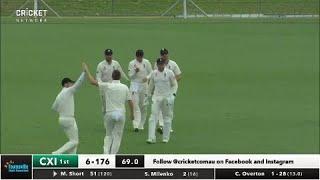 Day one highlights: Cricket Australia XI v England