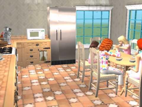 Sweet Summer House - Sims 2