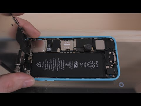 How to Replace the Battery on the iPhone 5C