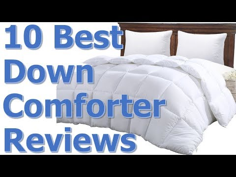 Best Down Alternative Comforter Review || Best Down Alternative Comforter