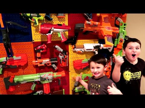 HUGE NERF GUN ARSENAL!