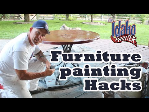 How To Paint Patio Furniture.
