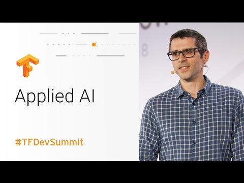 Applied AI at The Coca-Cola Company (TensorFlow Dev Summit 2018)