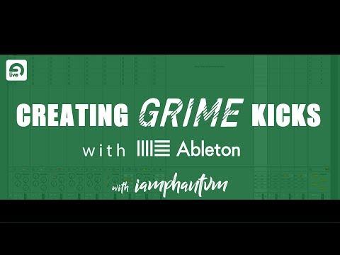 How to make a UK Grime Kick w/ IAMPHANTVM via Ableton Live
