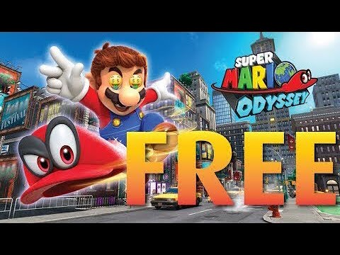 How to get Super Mario Odyssey for FREE 🤑 [NINTENDO SWITCH] [SUPER MARIO FOR FREE!]