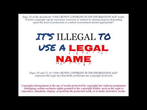 Alabama district attorney: Birth certificate / legal name fraud.