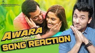 Awara Song Reaction | Dabangg 3 | Salman Khan, Saiee Manjrekar, Sonakshi