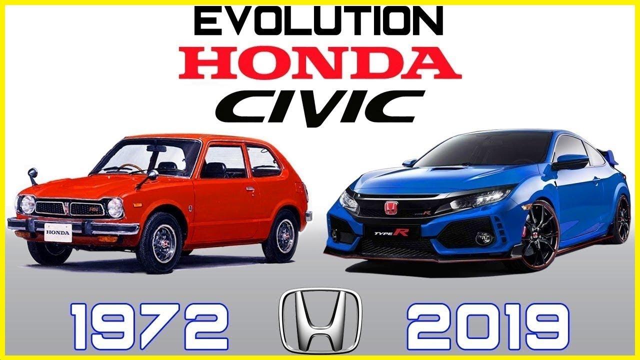 HONDA CIVIC - EVOLUTION (1972 - 2019)