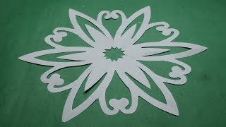 How to make simple easy paper cutting flower designs paper how to make simple easy paper cutting f mightylinksfo