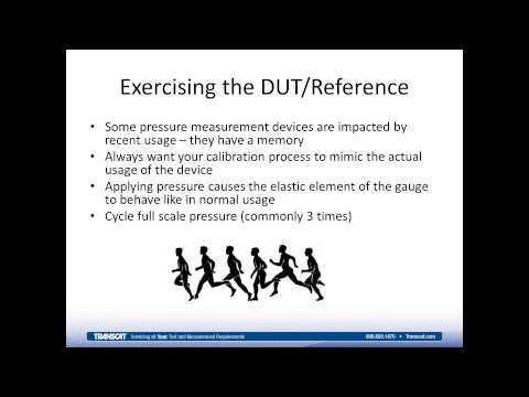 How to Calibrate a Pressure Gauge using a Pressure Comparator or Pressure Calibrator Webinar