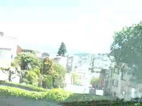 Ride down Lombard Street in San Francisco
