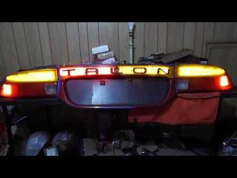 GNAR_Factory 2G Eagle Talon Ver. 1 full chasing tail lights