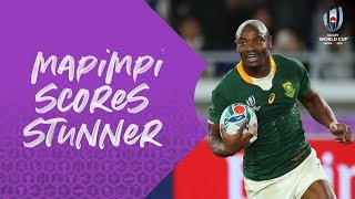 Makazole Mapimpi's sensational try in World Cup final