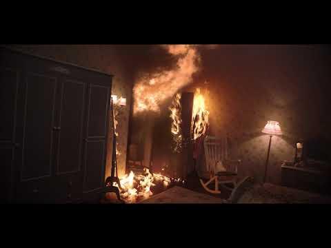 She was caught in fire, but things were getting worse.   علقتْ في الحريق وفجأة أصبح الوضع أسوأ!