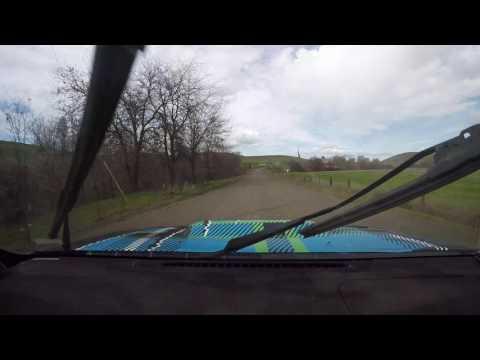 Oregon Trail Rally 2017 Deer Run Kardos Boro Crash