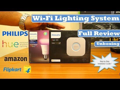 WiFi Lighting System | Philips Hue - Mini Starter Kit | E27 Bulb | Review
