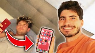 Surprising My Friend With A New iPhone But He Has To Do Whatever I Say!!