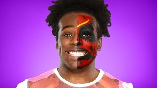 Xavier Woods transforms into Boogeyman: WWE Halloween Makeup Tutorial