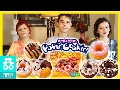 Popin' Cookin' Doughnuts Candy Kit! Challenge!  |  KITTIESMAMA