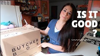 Butcher Box Review + Unboxing - Grass Fed Beef, Organic Chicken \u0026 Pork - Delivery Subscription Box