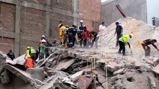 Hundreds Dead in Mexico After Earthquake Strikes on Anniversary of Devastating 1985 Quake