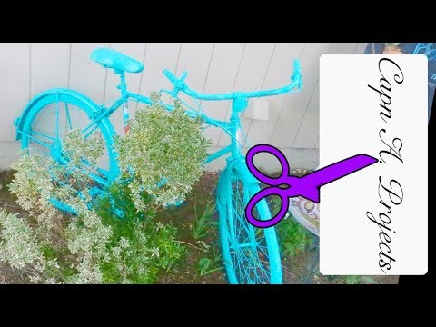 BICYCLE Garden Decor - Easy!