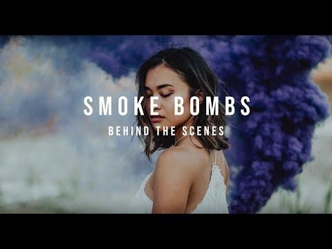 SMOKE BOMB | BTS | PHOTOSHOOT