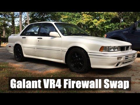 1991 Mitsubishi Galant VR4 1803/2000 RHD to LHD Firewall Swap Build Thread