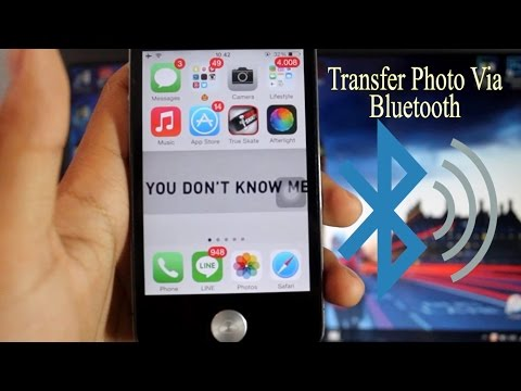 Pc Can Transfer Photo For Iphone Via Bluetooth